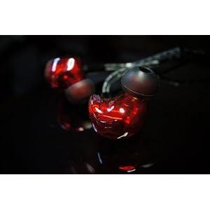◆国内正規品◆ HEIR AUDIO IEM 8AI RED  8xバランスドアーマチュア イヤホン(ケーブル脱着式)