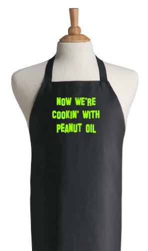 Duck Dynasty Now We're Cooking With Peanut Oil Funny Apron