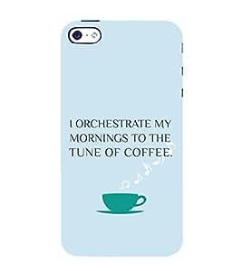 PrintVisa Coffee Quotes Design 3D Hard Polycarbonate Designer Back Case Cover for Apple iPhone 4 :: 4S