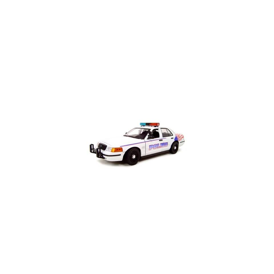 FERNDALE WA POLICE CAR FORD CROWN VICTORIA 118 DIECAST MODEL