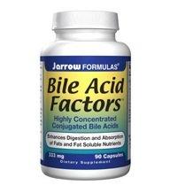 Jarrow Bile Acid Factors 333 mg, 90 caps ( Multi-Pack)