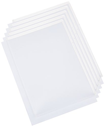 Brother Printer Cs-Ca001 Plastic Card Carrier Sheet For Ads Document Scanners, 5 Pack - Retail Packaging front-575968