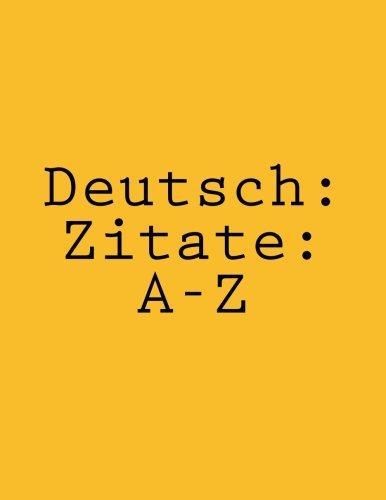 Deutsch: Zitate: A-Z