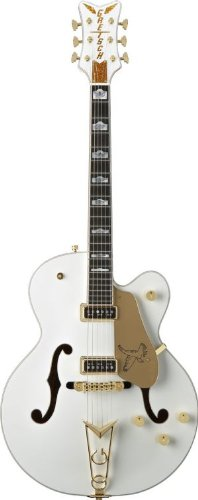 Gretsch G6136Ds White Falcon Electric Guitar - White