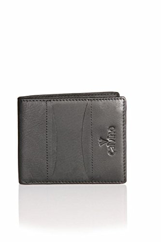 Calvino Calvino 003 Black Men's Wallet