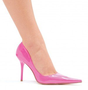 411-Lola, 4 Inch Classic Pointed-Toe Pump In 7 Colors, by Ellie Shoes