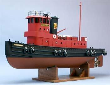 The Jersey City Tug Boat Kit w/9