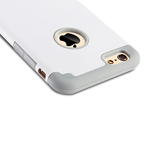 iPhone-66s-Cases-Case-Cover-duplice-ibrido-per-iPhone-66s-Cover-duro-per-iPhone-6-stampato-Design-Pc-Silicone-ibrido-impatto-grande-Difensore-custodia-Combo-duro-morbido-Cases-Coversbiancogrigio