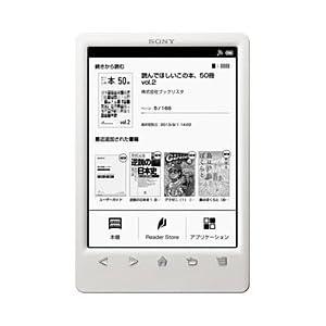 ソニー 電子書籍リーダー Reader(ホワイト) PRS-T3S/WC