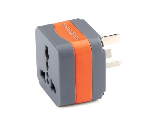 into foreign wall outlets•Fits most wall outlets in: Australia, New.