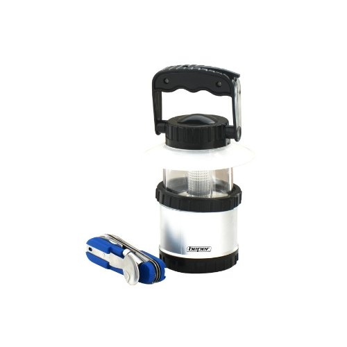 Beper 30.223 - Lanterna Camping + Coltellino Multifunzione -Set Campeggio