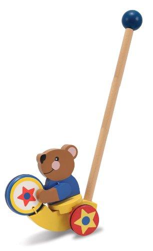 """Drumming Bear Push Toy 19.5"""" - 1"""