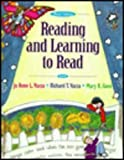 Reading and Learning to Read (0673990893) by Jo Anne L. Vacca