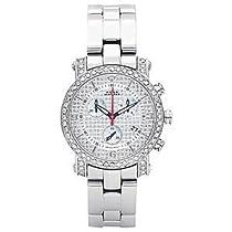 Aqua Master 2.20ct Diamond Watch Silver Face
