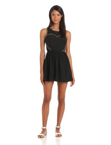 Parker Women's Sophia Dress, Black, Medium