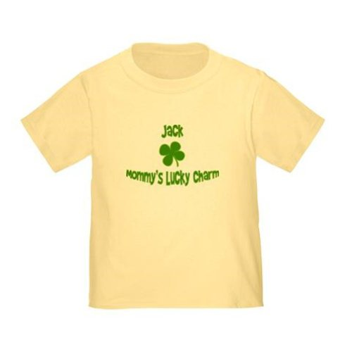 Personalized Mommy'S Lucky Charm Mom St. Patrick'S Patty'S Day Shamrock Shirt For Baby, Infant, Toddler, And Kids - Customize With Any Boy Or Girls Name, Birthday Present Custom Gift Collection front-931091