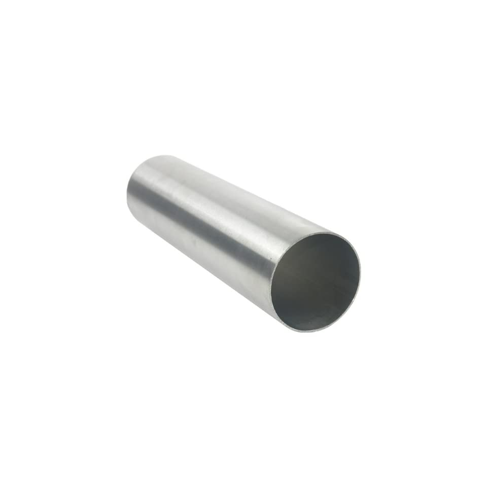 2 304L Polished Welded Stainless Steel Tube .065 Wall 3