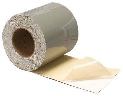 "Dicor 533RM-6 EPDM 6"" X 25' Self-Adhesive Rubber Roof EPDM Repair Membrane"