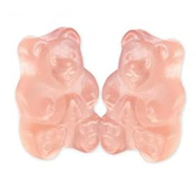 Albanese Pink Grapefruit Gummi Bears, 1.5 LB by Albanese Confectionery