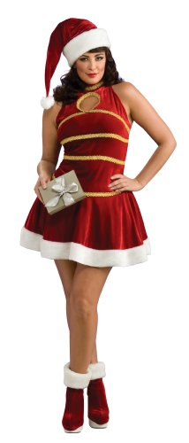 Rubie's Costume Santa Dress, Hat And Boot Tops