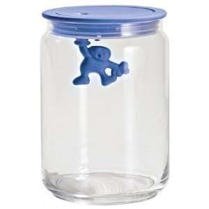 Amazon.com: Gianni Storage Jar with Lid by Mattia Di Rosa Size: Medium