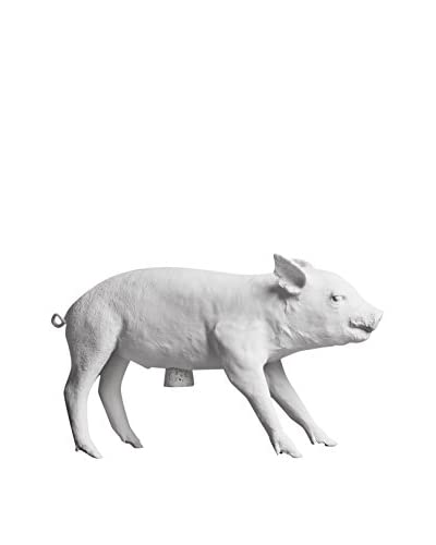 Areaware Bank Pig, White