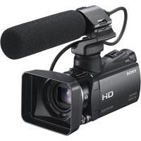 Sony HXRMC50U Ultra Compact AVCHD Camcorder, 12 Megapixel, 10x WA G Lens, 1/2.88in Back-Illuminated Exmor R CMOS Sensor, 64GB HDD