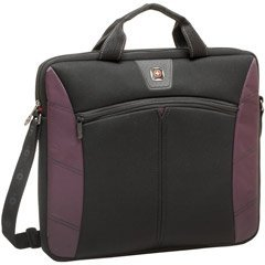 SwissGear SHERPA 16IN SLIMCASE COMPUTERSLEEVE COLOR BURGUNDY (Computer / Notebook Cases & Bags)