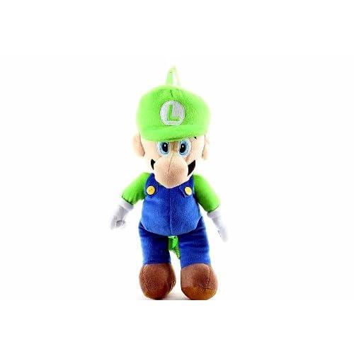 Nintendo Super Mario Luigi Plush Kids Backpack Buddy