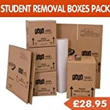Student Moving Pack (Perfect for 1 Bed Flat/Apartment - High Quality Boxes)