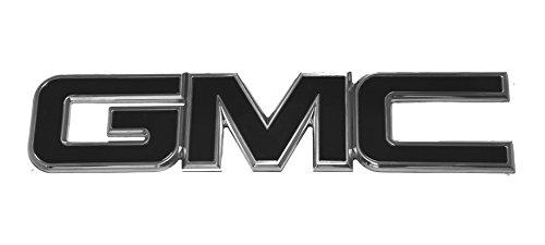 2015-2016 GMC Yukon / Yukon XL Black/Polished Grill Emblem By AMI (Gmc Grill Emblem compare prices)