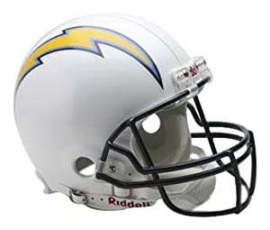 NFL San Diego Chargers Full Size Proline VSR4 Football Helmet by Riddell