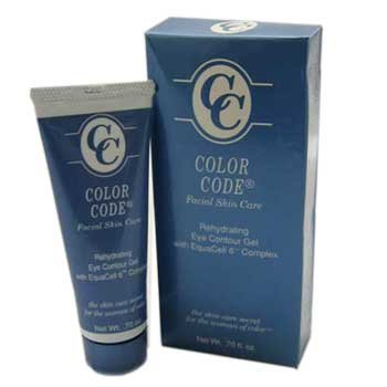 Color Code Facial Skin Care Rehydrating Eye Contour Gel - .70 fl. oz.