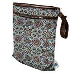 Planet Wise Wet/Dry Diaper Bag, Fiesta