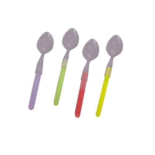 WeGlow International Ware Pack Spoons, 4-Pack, 2-Piece