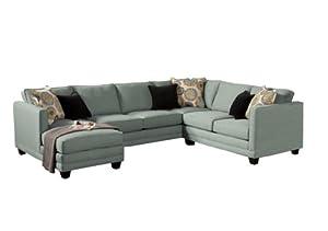 amazoncom furniture of america murray 3piece modern