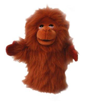 Marioneta de orangutan