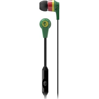Skullcandy Ink'd 2 with Mic Earphones/Earbuds Premium Headphone - Rasta
