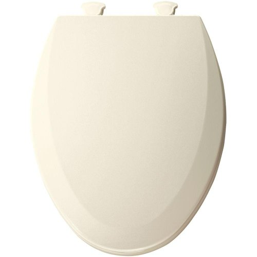 Bemis 1500EC346 Molded Wood Elongated Toilet Seat With Easy Clean and Change Hinge Biscuit/Linen image