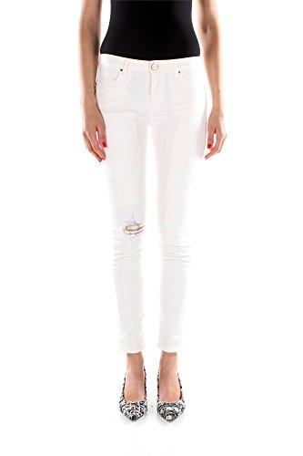 Jeans Pinko Donna Cotone Bianco 1N1147Y222Z04 Bianco 27