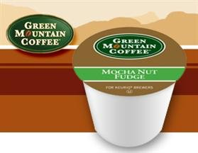 Green Mountain Mocha Nut Fudge Flavored Coffee 2 Boxes Of 24 K-Cups