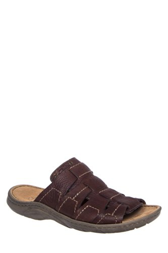 Clarks Men's Woodlake Easy Slide Flat Sandal