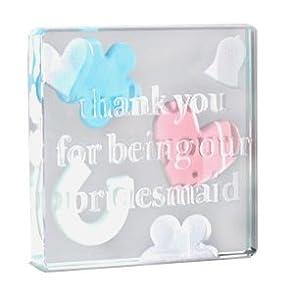Wedding Gift Ideas Amazon : Wedding GiftsThank You Bridesmaid Spaceform Token: Amazon.co.uk ...