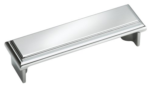 Amerock BP2613026 Manor 3in(76mm) CTC Cup Pull - Polished Chrome (A Sleek And Polished compare prices)