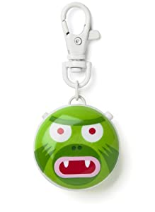 Talkatoo Voice Recordable Pendant: 'Green Monster' with Clip