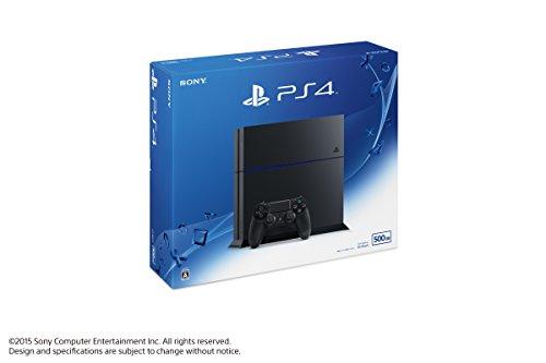 私も持ってるPS4!PlayStation 4 ジェット・ブラック (CUH-1200AB01)
