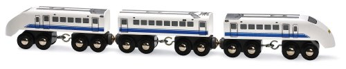 Brio - 33417 - Circuits de train en bois - Shinkansen