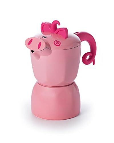 JoyFul Christmas Caffettiera Maialetto 3 Tazze Pink