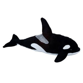 Adventure Planet Plush - KILLER WHALE ( 12 inch ) - 1