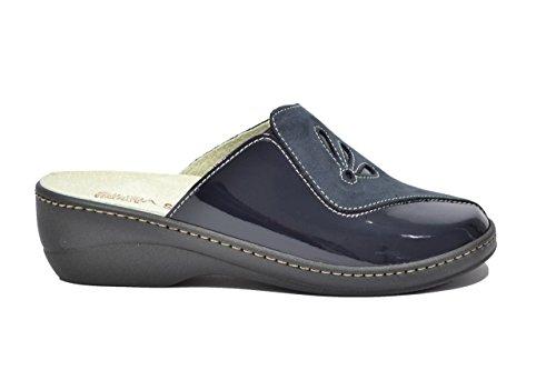 Cinzia Soft Ciabatte scarpe donna blu PLANTARE ESTRAIBILE IAEH33-NV 40